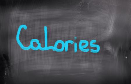 calorific: Calorie Concept Stock Photo