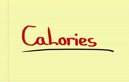 calorie: Calorie Concept Stock Photo