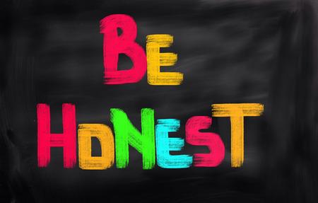 Be Honest Concept