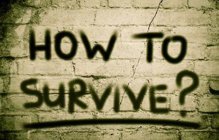 survive: How To Survive Concept