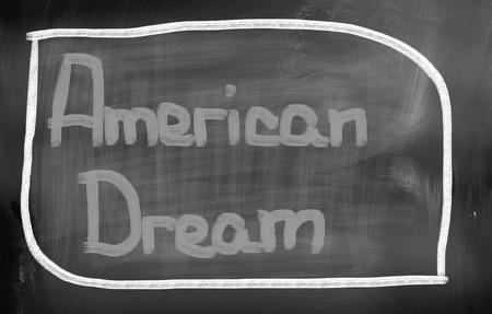 american dream: American Dream Concept