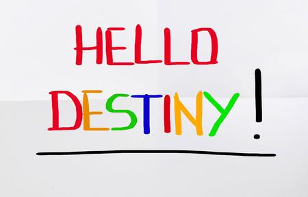 destiny: Hello Destiny Concept