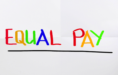 equal to: Equal Pay Concept
