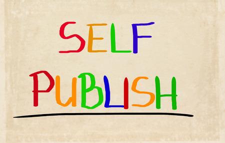 Self Publish Concept