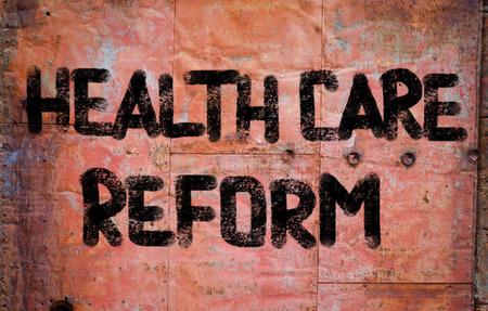 care providers: Health Care Reform Stock Photo