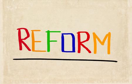 reform: Reform Concept