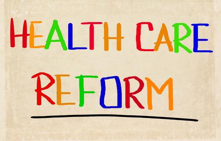 health reform: Health Care Reform Stock Photo
