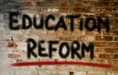 reform: Education Reform Concept