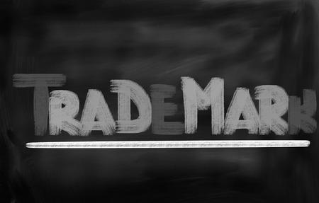 trademark: Trademark Concept Stock Photo
