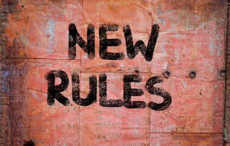 new rules: New Rules Concept