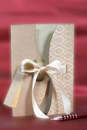 luxury greeting card - shallow focus