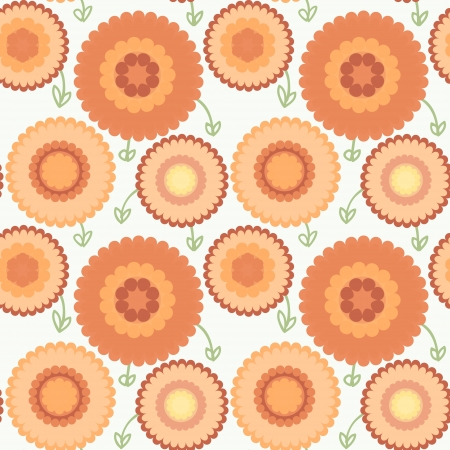 seamless floral background color cofe