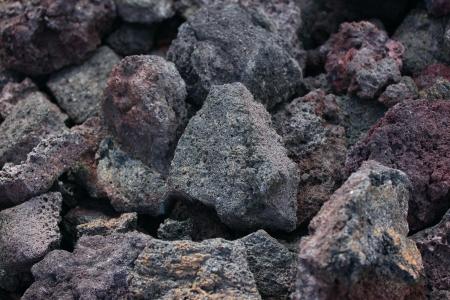 Lava Rocks, Big Island, Hawaii