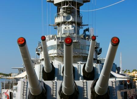 Big Guns, Battleship