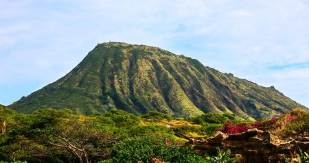 ココ ・ クレーター、オアフ島、ハワイ 写真素材