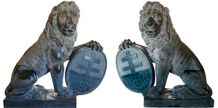 ypres: Menin Gate Lions of Ypres