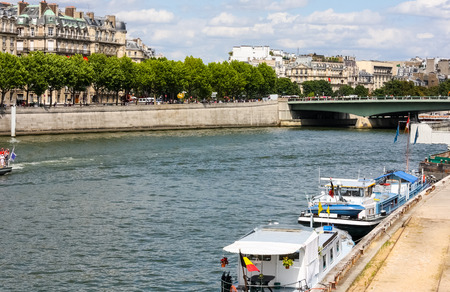 seine: Seine River, Paris, France Stock Photo