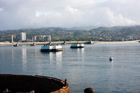Pearl Harbor, Hawaii, battleship area