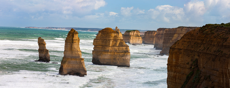 Section of the Twelve Apostles, south Victoria, Australia