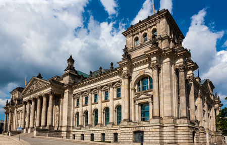 Reichstag building, Munich, Germany, House of Parliament in the German capital. 写真素材