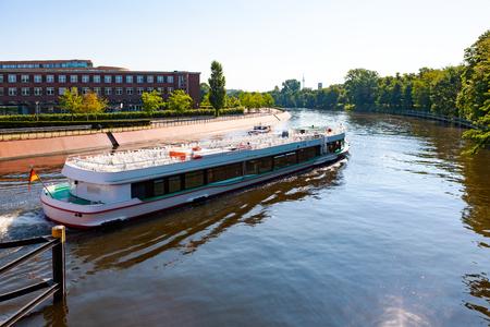 Descente de la rivière Spree, Berlin, Allemagne