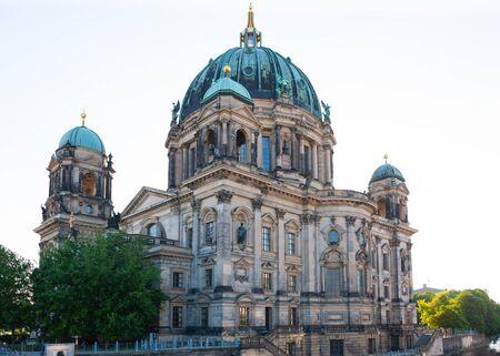 Berliner Dom, Berlin Cathedral, along Spree River, Berlin, Germany