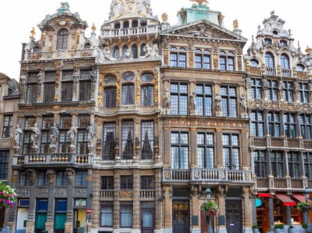 Grand Place, Market Square in Brussels, Belgium