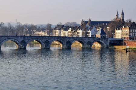 マーストリヒト、オランダの古い橋