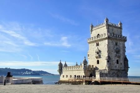 belem: El torre de Belem in Lisbon, Portugal
