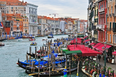 Grand Canal top view, Venice, Italy Stock Photo - 20289474
