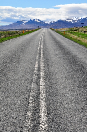 tripping: Road tripping in Iceland Stock Photo