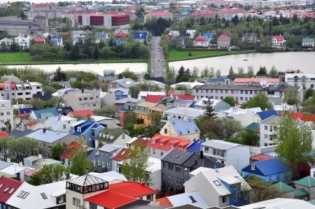 reykjavik: Reykjavik paisaje urbano, Islandia