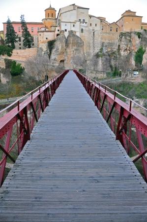 cuenca: Old bridge in Cuenca, Spain