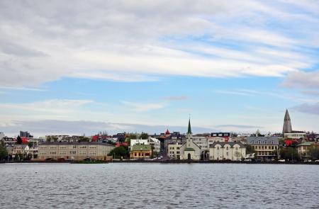 reykjavik: Panorama de Reykjavik, Islandia