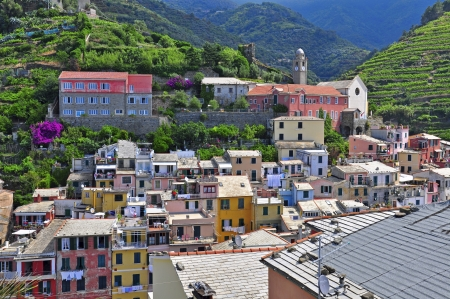 Cinque terre, Italy photo
