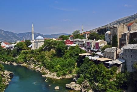 hercegovina: Mostar cityscape, Bosnia and Hercegovina  Stock Photo