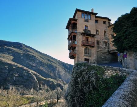 cuenca: hanging house in Cuenca, Spain