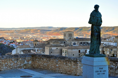 fray: Fray monument in Cuenca, Spain