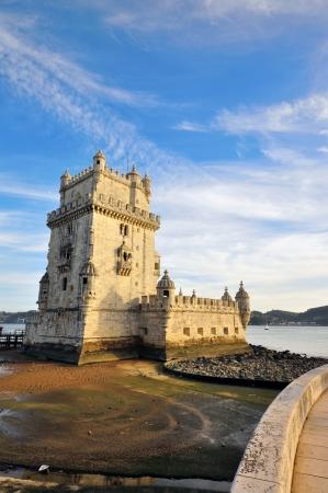 belem: Belem Tower, Lisbon. Vertical shot