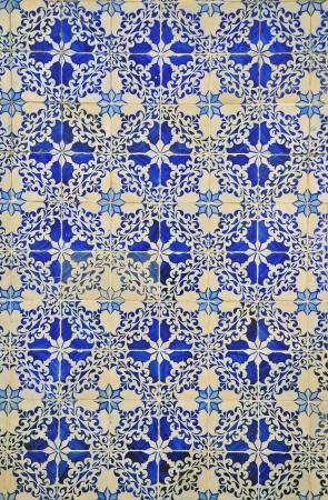 Azulejo pattern background Stock Photo