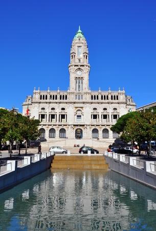 Porto town hall, Portugal