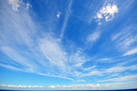 Cielo blu con nuvole Archivio Fotografico - 26405161