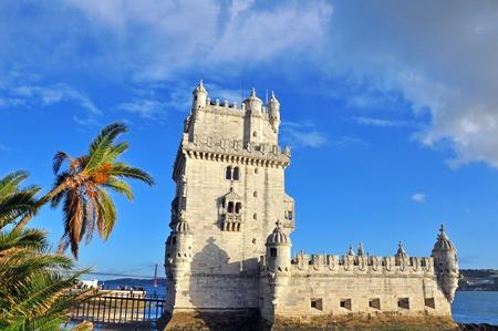 Belem tower in Lisbon, Portugal photo