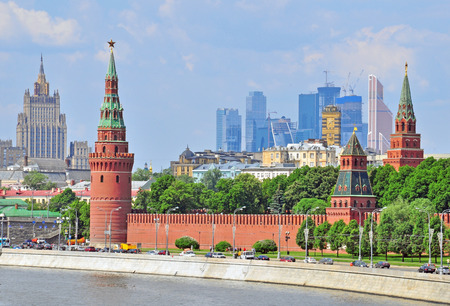 buisiness: Moscow skyline, Russian Federation