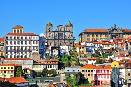 oporto: Oporto historical city centre, Portugal