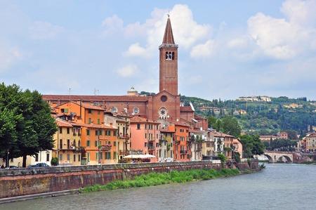veneto: Panorama of Verona, Veneto, Italy