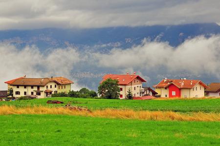 alto: Small village in Trentino Alto, Italy