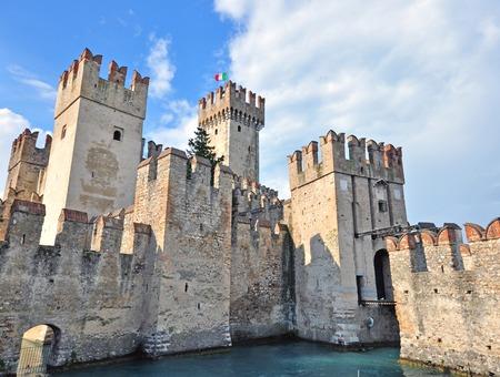 sirmione: Sirmione castle, Trentino Alto, Italy Editorial