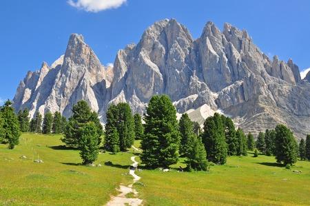 イタリア アルプスの山頂