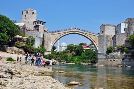 hercegovina: Mostar old town, Bosnia and Hercegovina Editorial